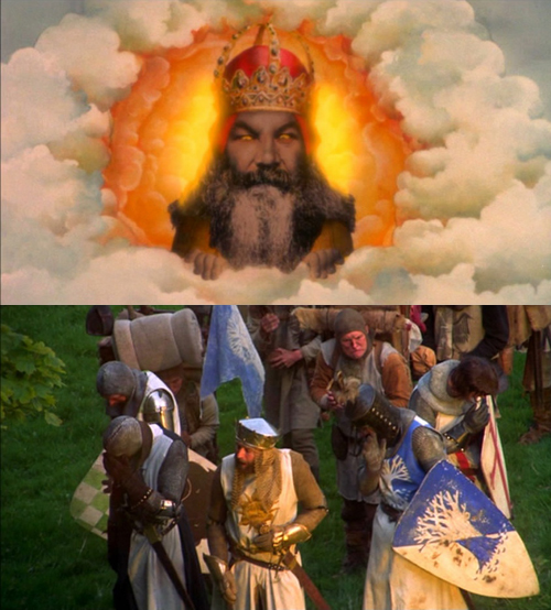 Once again, Monty Python got it right